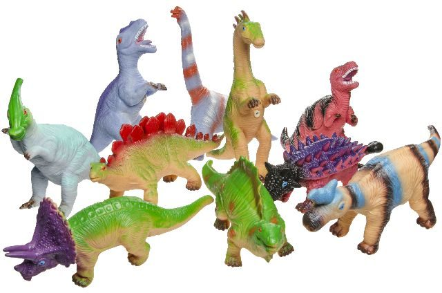 12 Dino 26cm 9 assorti in display 2863