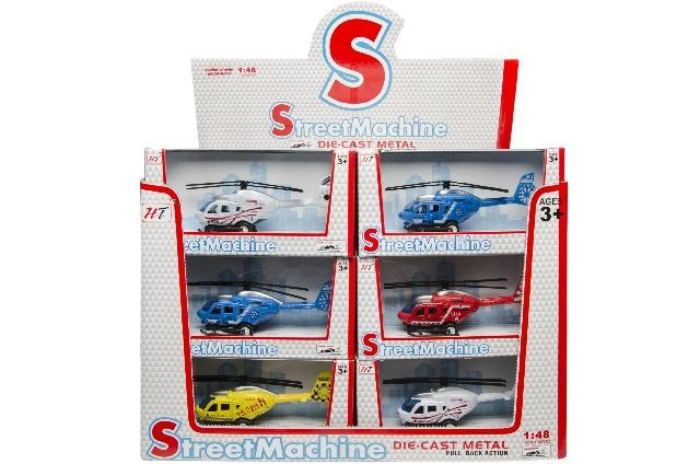 Helicopter die cast 3030