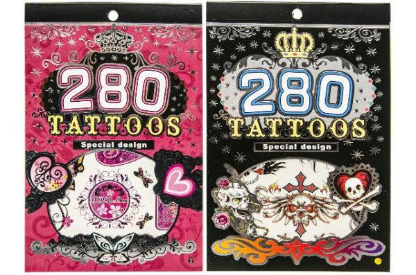 16 boekjes met tattoos 2 ass. 2246