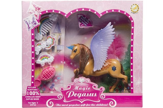 Unicorn met vleugels en acc.in doos 0338