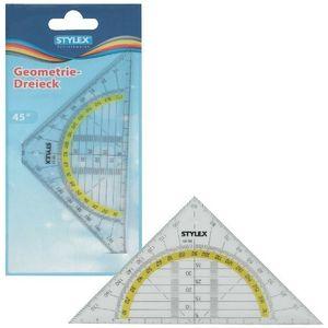 10 Geodriehoek breekbaar 37020