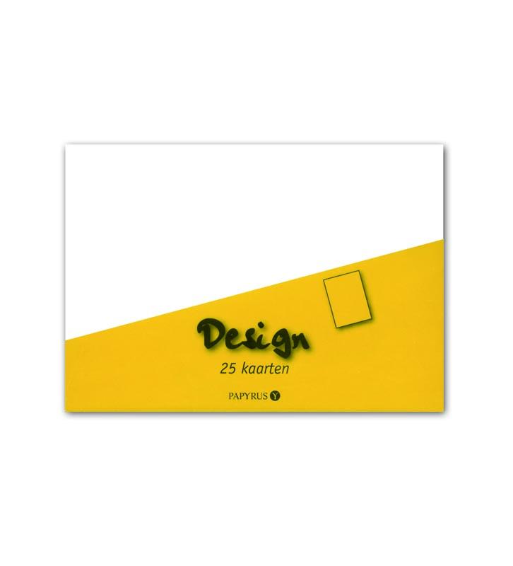 25 kaarten ivoor 105X148mm 894420