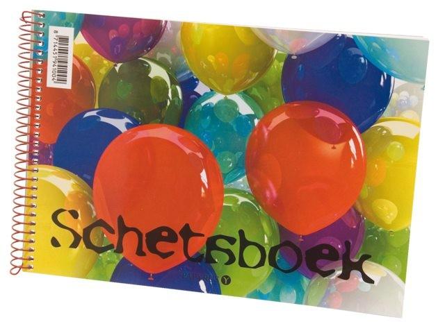 10 Schetsboek ballon 148x210mm 894100