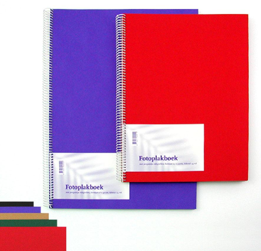 5 Fotoplakboeken neutraal 23x33cm 894051