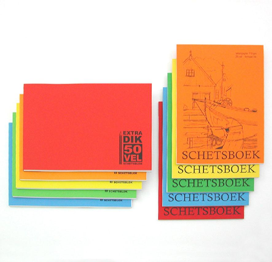 5 Schetsboek extra dik 210x297mm 894153