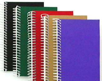 10 Spiraalnotitieboek 140X80mm 894475