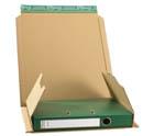 25 boekverpakkingen bruin 370*297*90