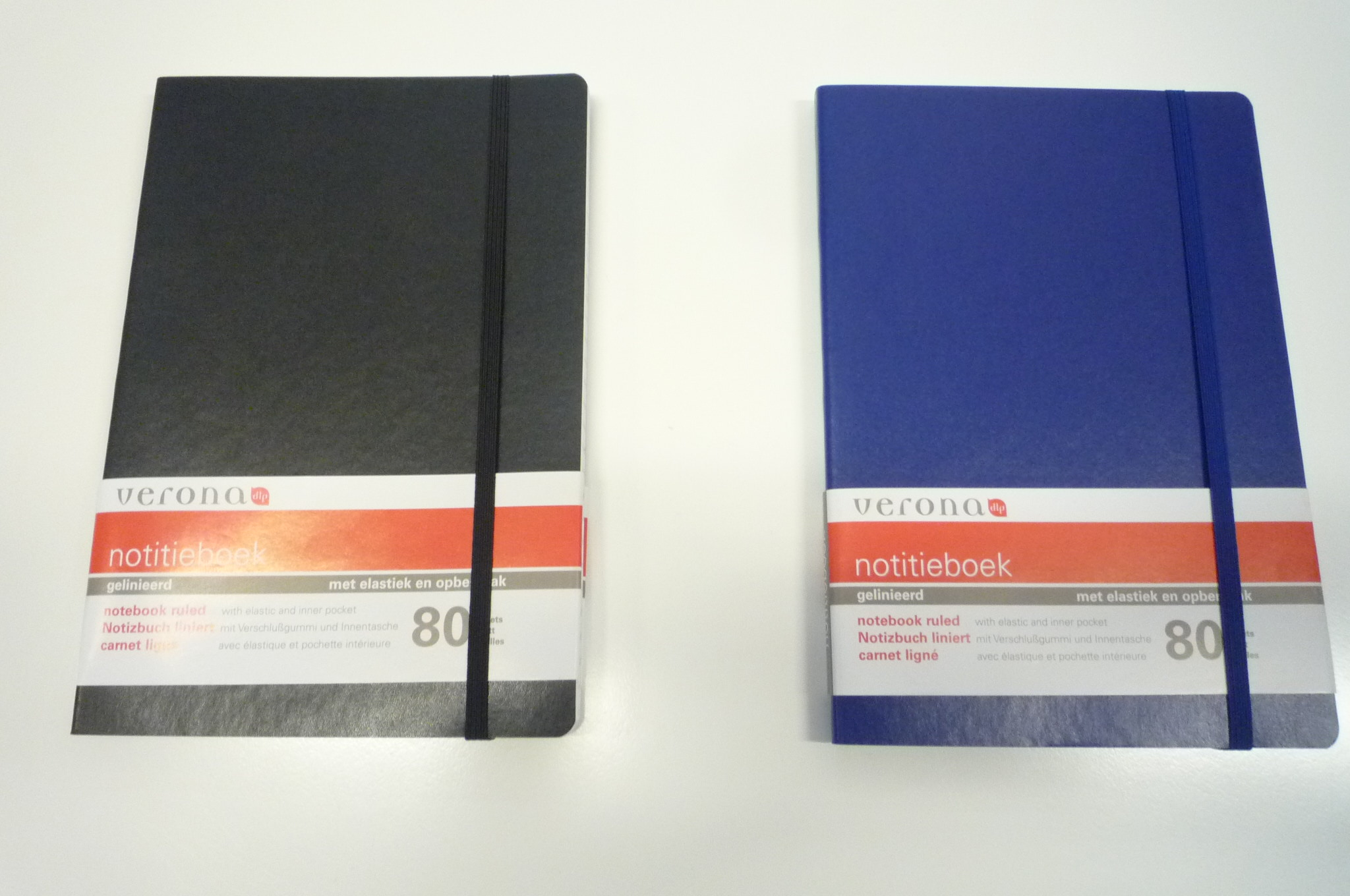 Notitieboek A5 met elastiek Verona 1962