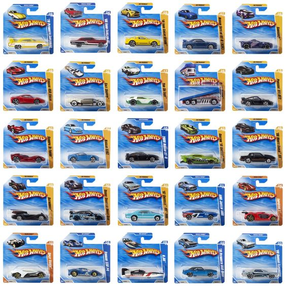 Hotwheels basic autos 5785