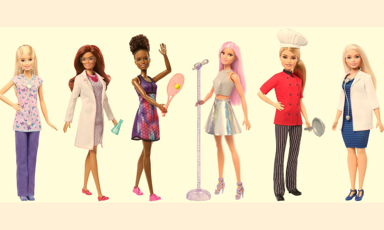 Barbie carrierepop asst. DVF50
