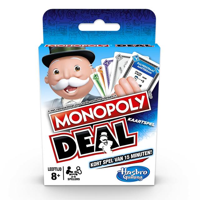 Monopoly deal kaartspel shuffle E3113104