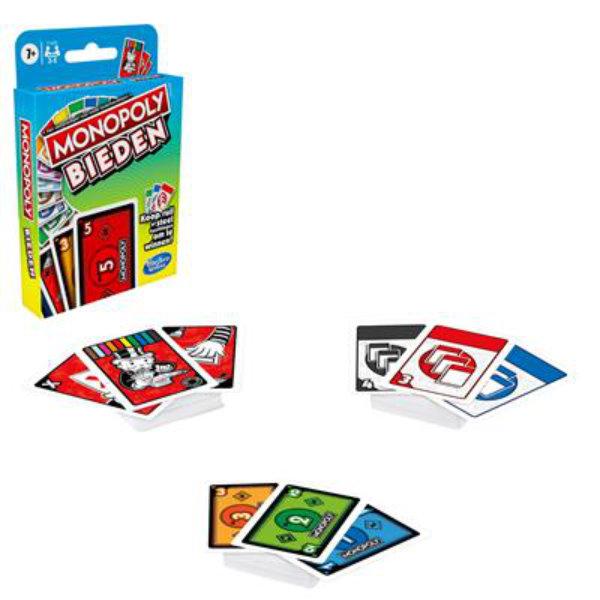 Monopoly bieden kaartspel F1699568