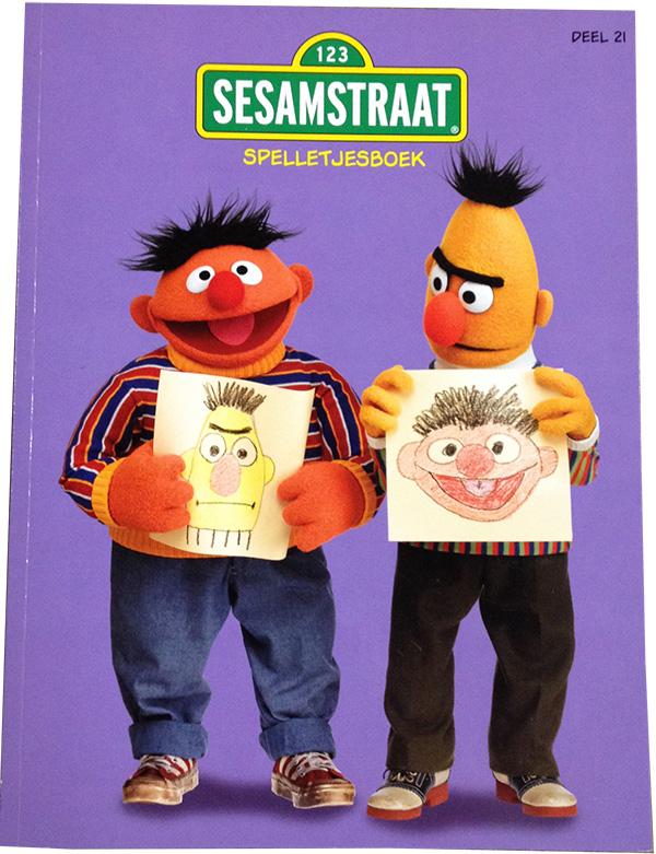 Sesamstraat spelletjesboek uitg.Loep