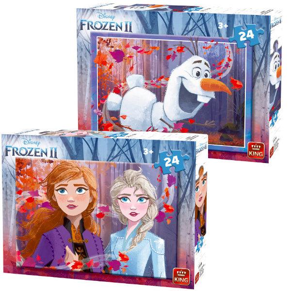 King puzzel Frozen 24 st. 55815