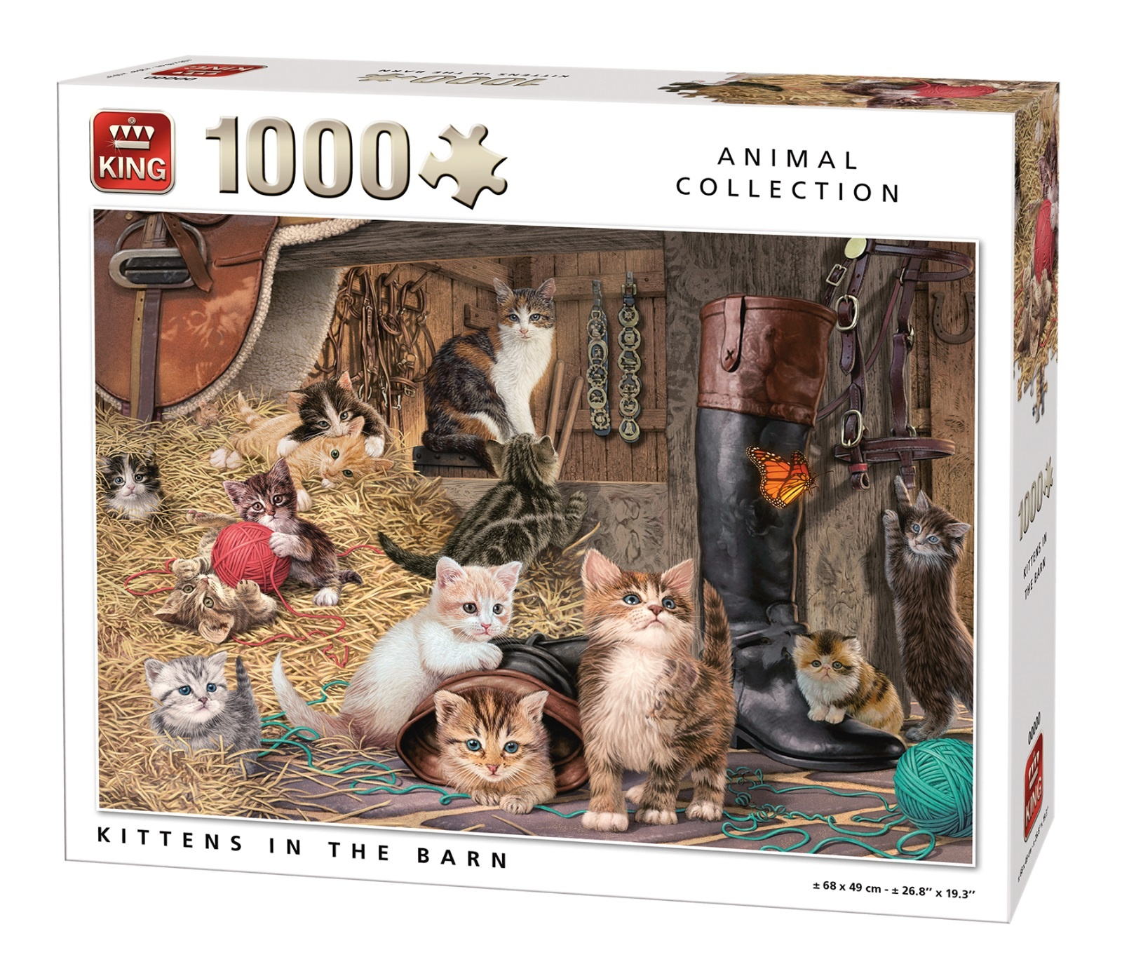 King puzzel 1000 st. 05700