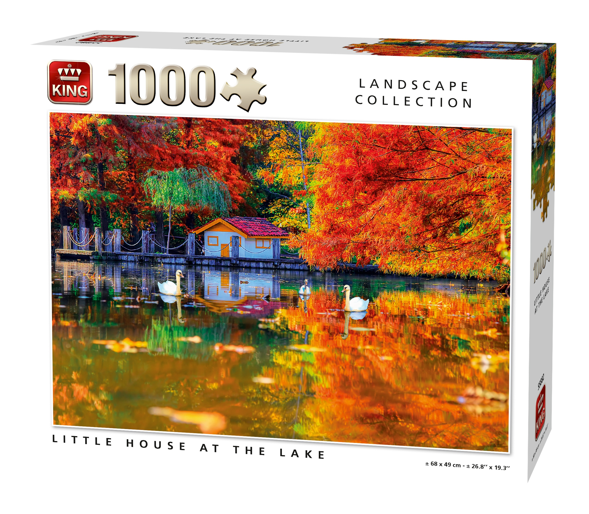 King puzzel 1000 st. 55882