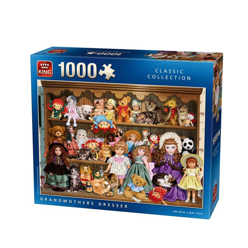 King 1000 st.grandmothers dresser5365