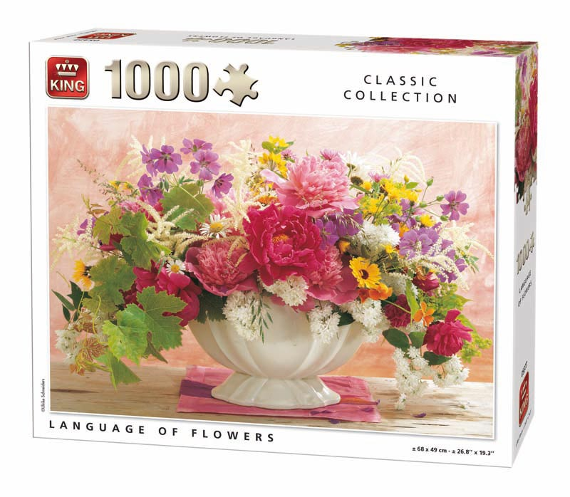 King Language of flowers 1000 st. 05377
