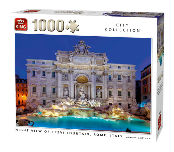 King puzzel 1000 st. night view 55852