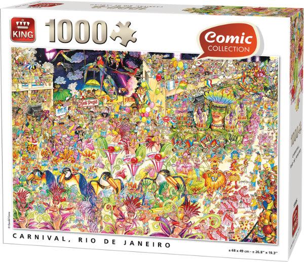 King puzzel 1.000 st. 55926