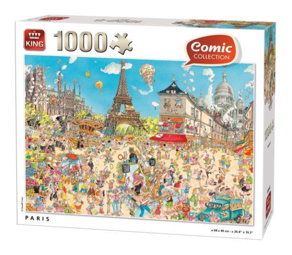 King puzzel 1.000 st. 55843