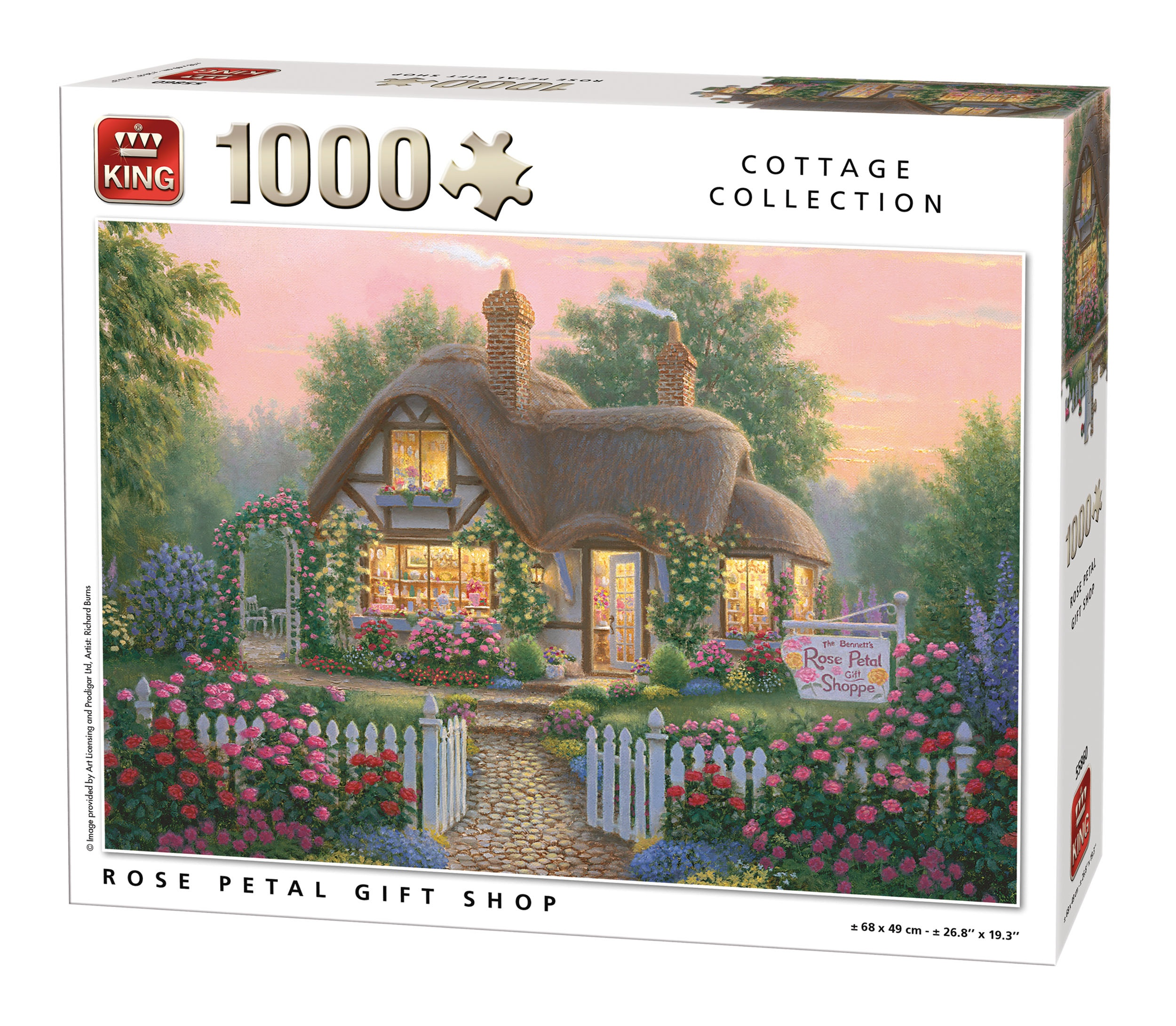 King puzzel 1000 st. 55860