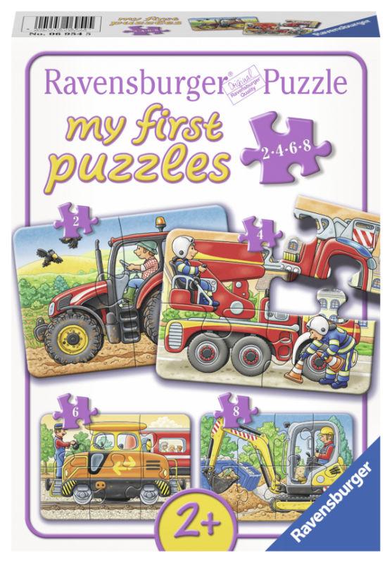 4 puzzels op het werk 2-4-6-8 st. 069545