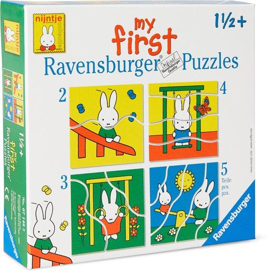 Nijntje  puzzel 2-3-4-5 st.  071463