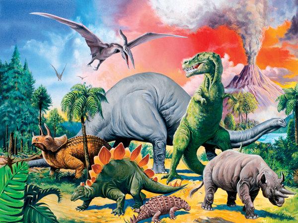 Tussen de dinosauriers 100 10957