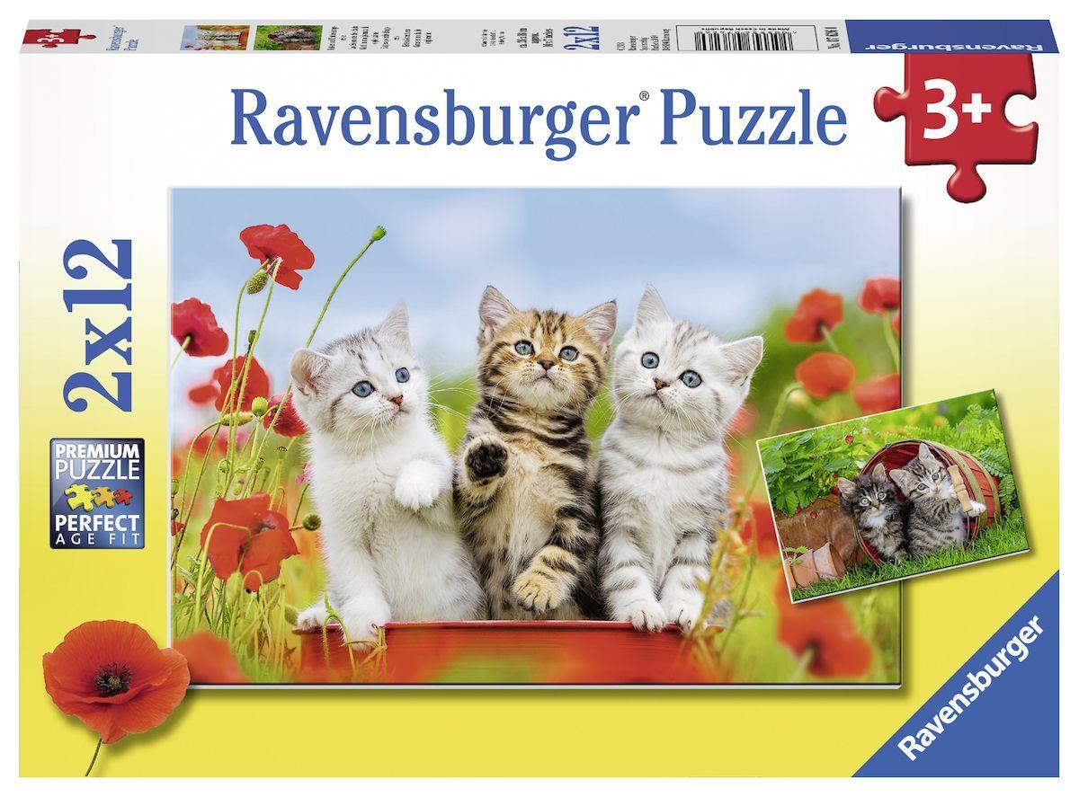 Ravensburger puzzel 2x12 stukjes 076260