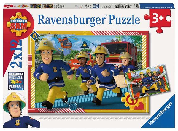 Ravensburger puzzel 2x12 stukjes 050154