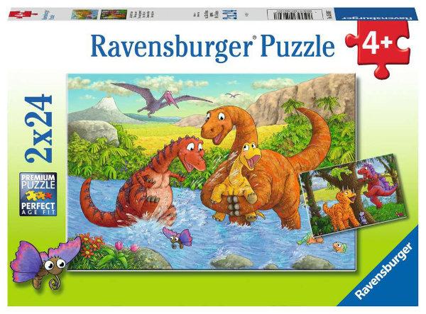 Ravensburger puzzel 2x24 stukjes 050307