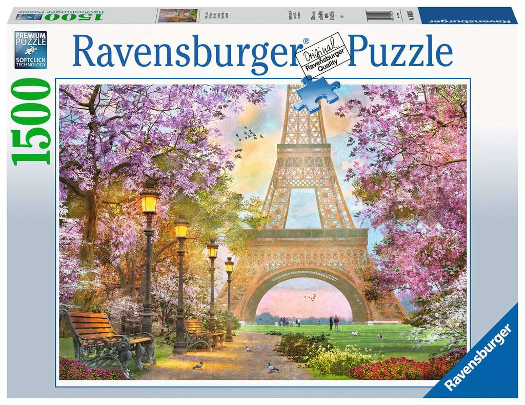 Ravensburger puzzel 1500 stukjes 160006