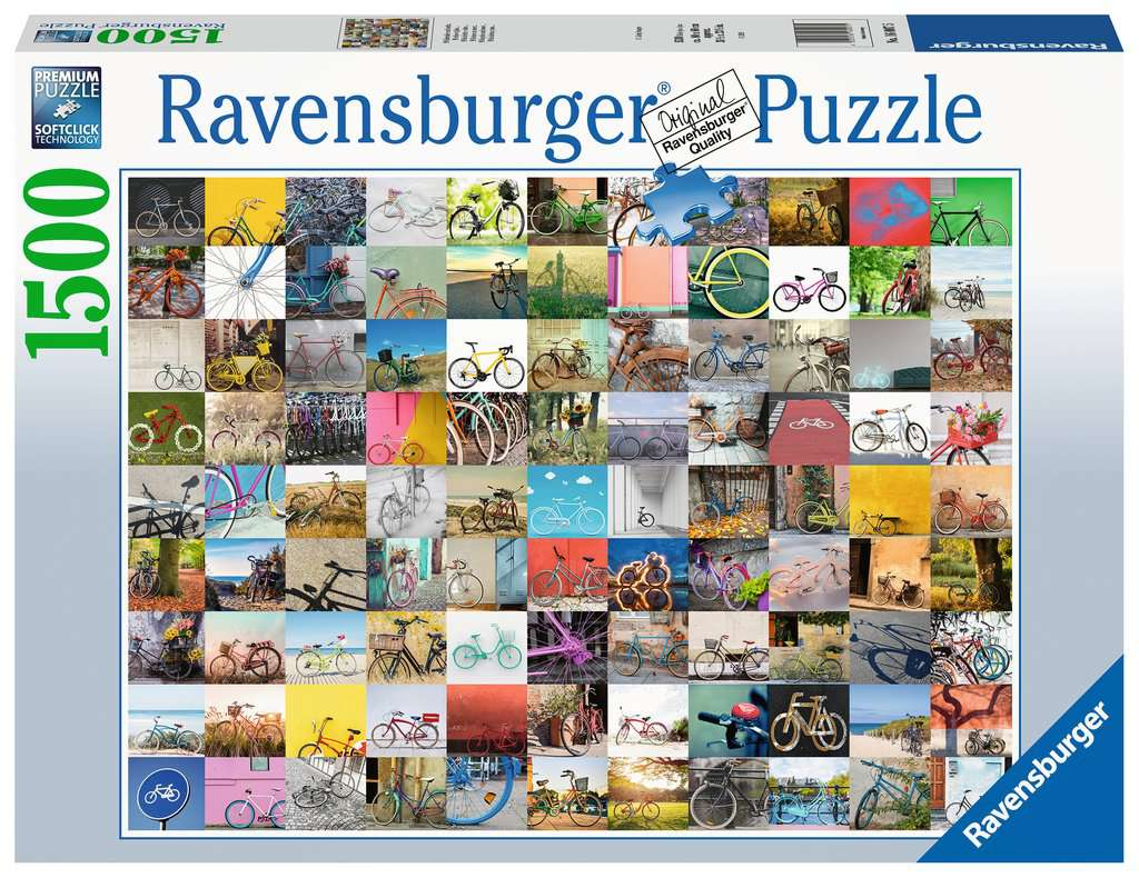 Ravensburger puzzel 1500 stukjes 160075
