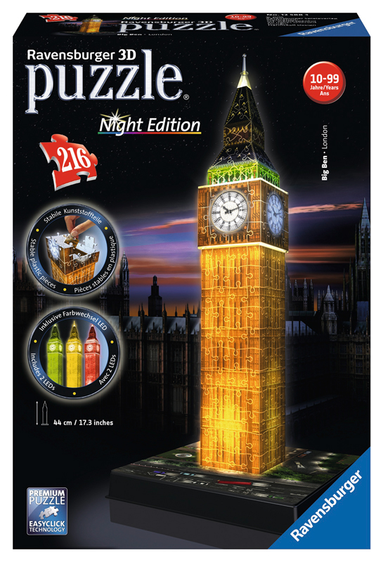 Big Ben Night Edition 3D 125883