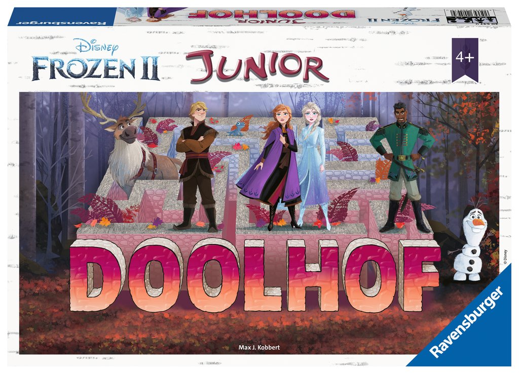 DFZ Frozen 2 junior doolhof 205479
