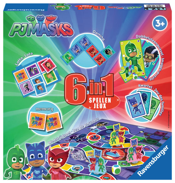 Ravensburger spel mask 6 in 1 21390