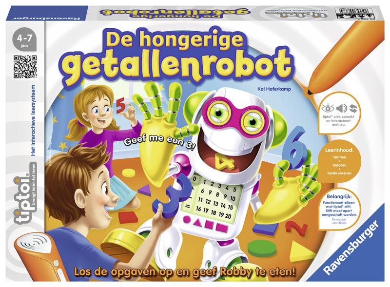 Tiptoi De hongerige getallenrobot 007684