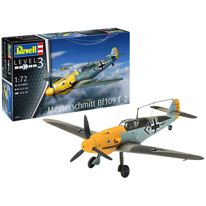 Model Set Messerschmitt Bf109 F-2 63893