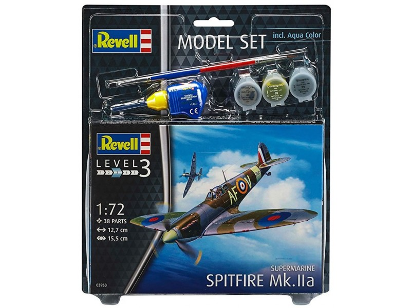 Model Set spitfire Mk.lla 1:72 63953
