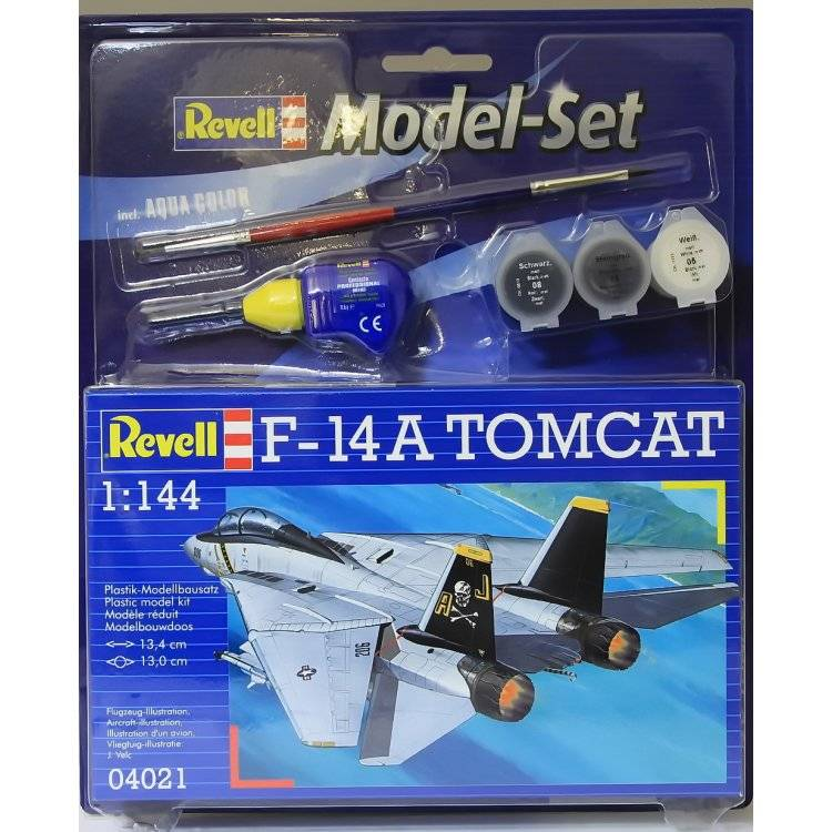 Model Set F-14A Tomcat 1:144 64021