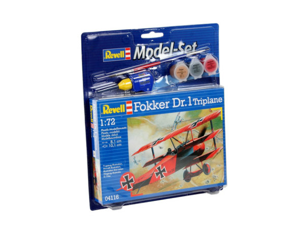 Model Set Fokker DR.1 Triplane 64116