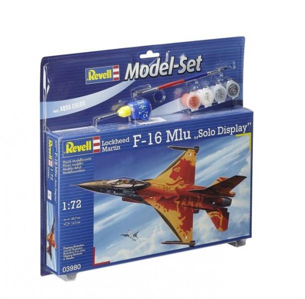 Model-set F16 Mlu solo 63980 1:72