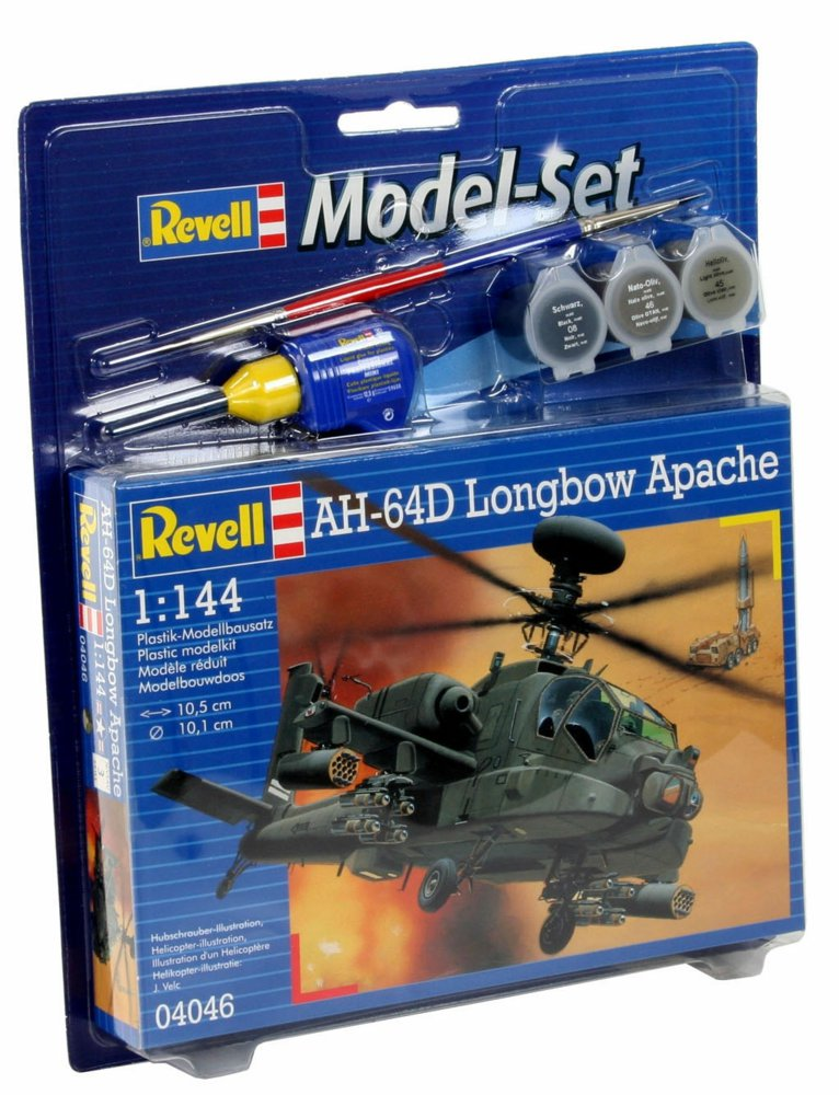 Model-set AH-64D Longbow Apache 64046