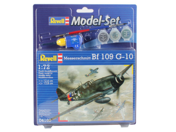 Model Set Messerschmitt Bf-109 64160
