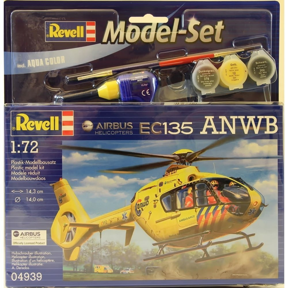 Model Set Airbus Heli EC135 ANWB 64939