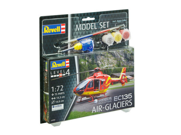 Model Set EC135 AIR-GLACIERS 64986