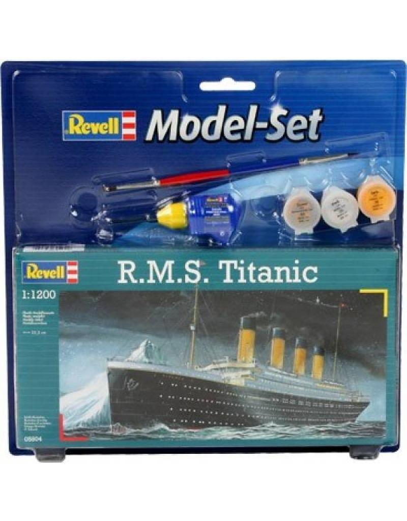 Model Set R.M.S. Titanic 1:1200 65804