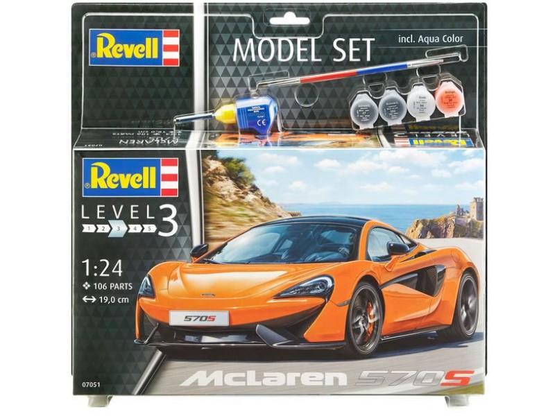Model Set McLaren 570S 1:24 67051