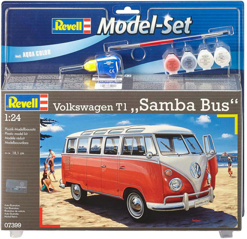 Model Set VW T1 Samba Bus 1:24 67399